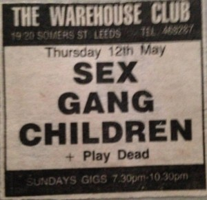 Leeds Warehouse 1983