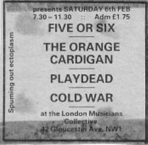 London Music Collective 1982