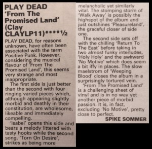 Sounds May 1984
