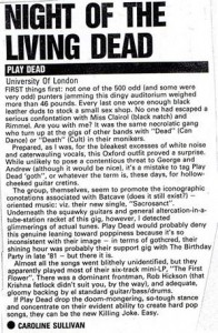 NME March 1984
